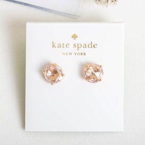 Kate Spade Bright Ideas Light Peach Stud Earrings